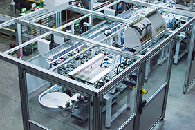 Linear system for cylinder lock production